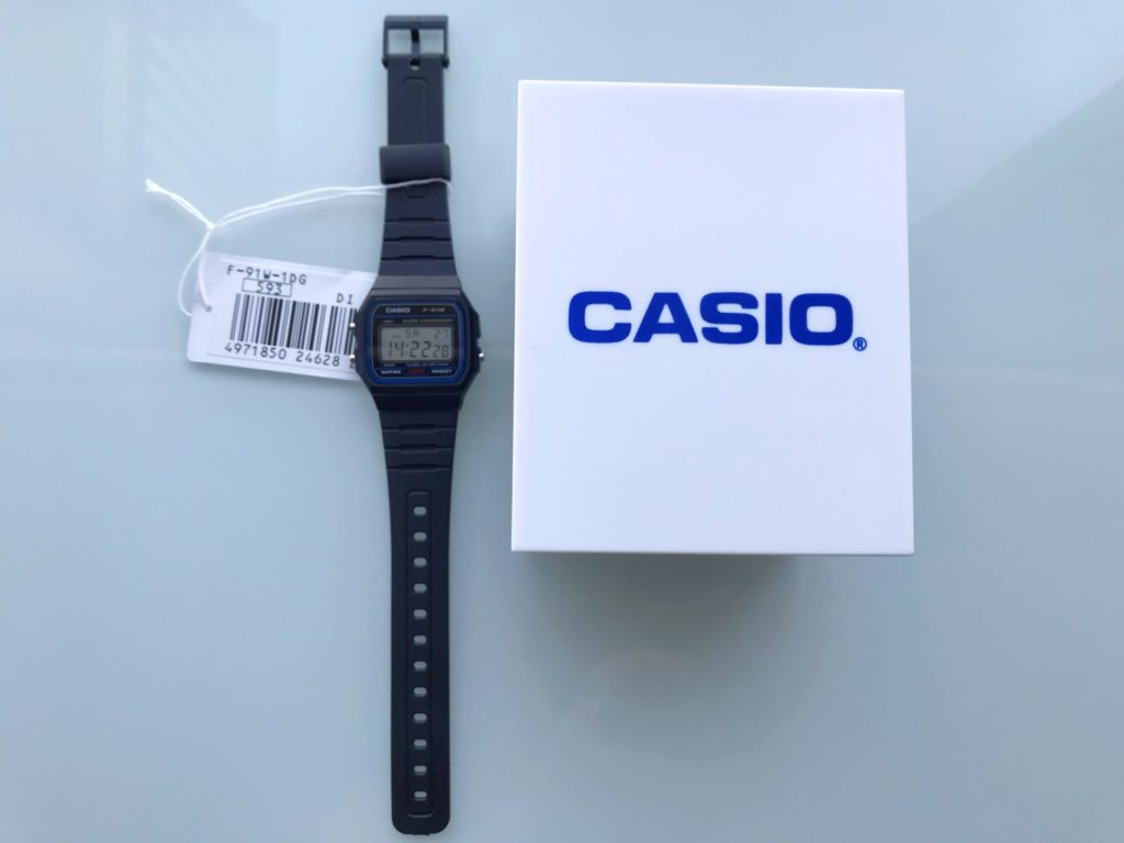 Ceas Casio F91W review