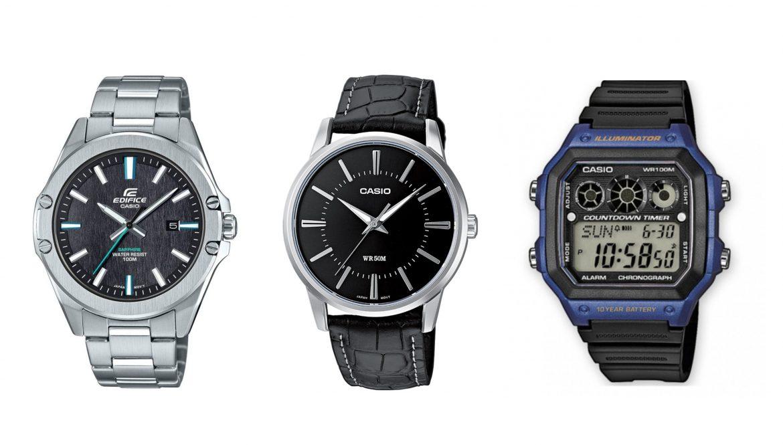 3 ceasuri Casio